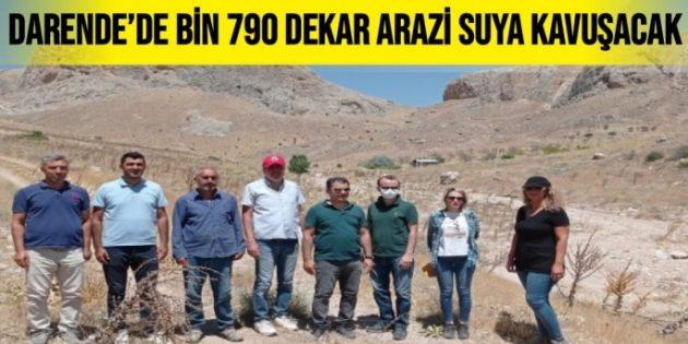Dev Sulama Projesi İçin İmzalar Atıldı!